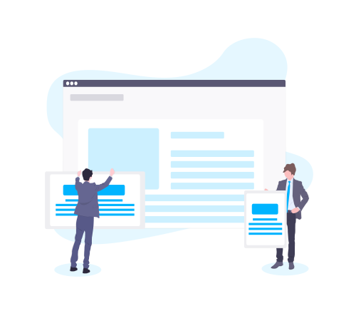 Una página profesional de tu negocio