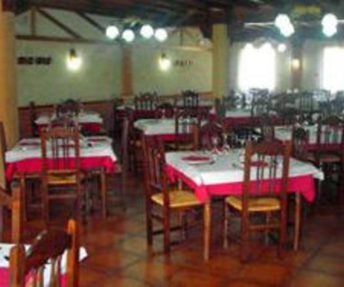 restaurante en la Arbeca de Záncara