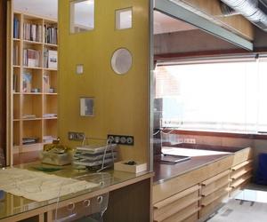 Estudio de Arquitectura Pablo Navas - Zona de trabajo, y despacho superior