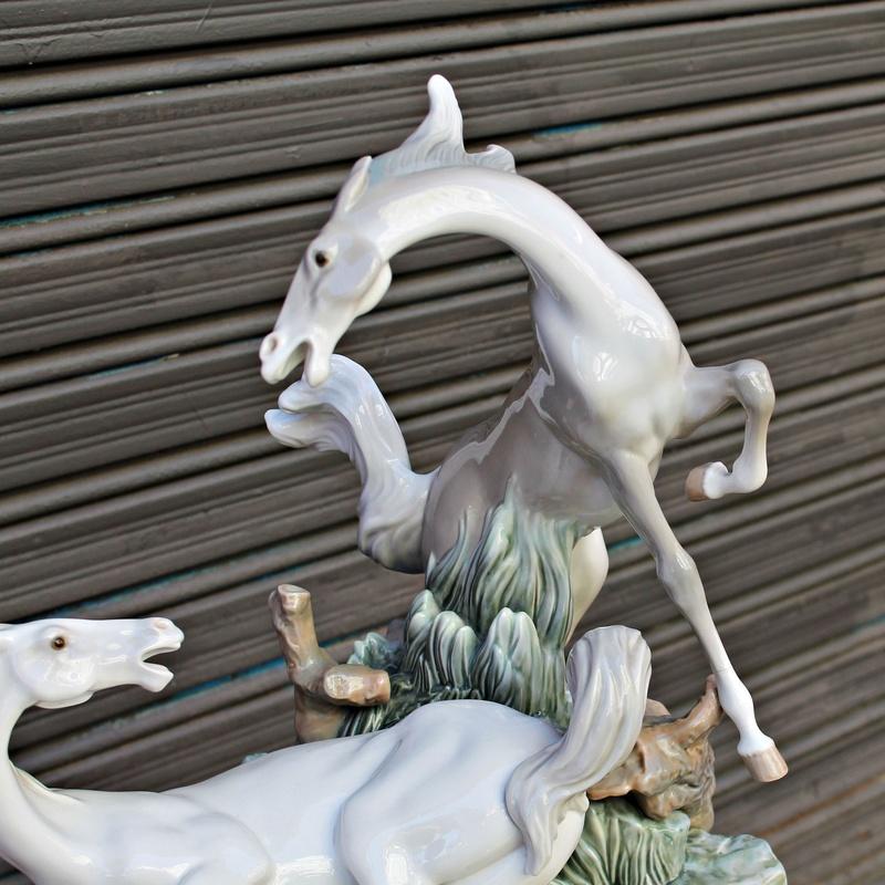 Escultura caballos de LLADRÓ 1976: Artículos  de Ruzafa Vintage