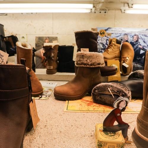 Expositor de botas
