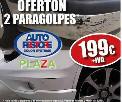 Oferta especial en paragolpes en Zaragoza