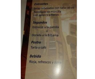 Sidrería vasca : Servicios de Sidrería Restaurante La Barrica