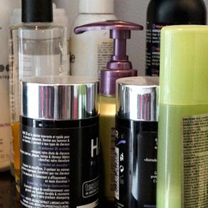 Los productos más utilizados en peluquería