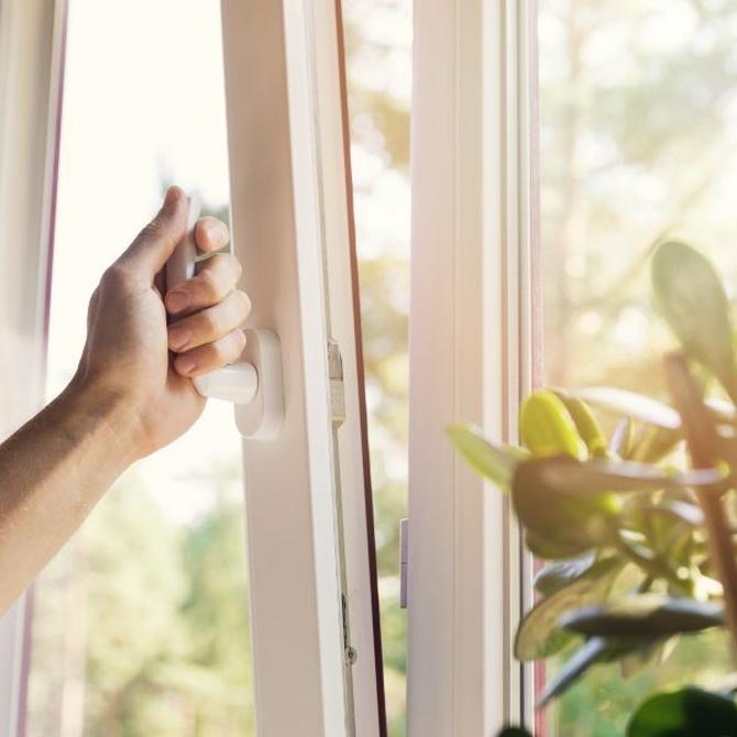 Los tipos de ventanas según su apertura