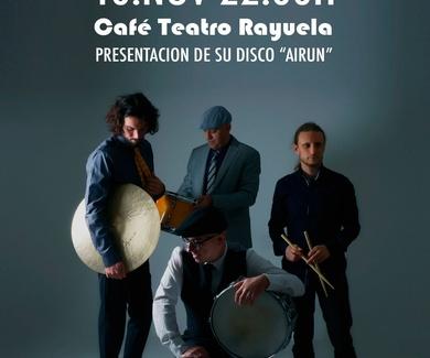 JM CHURCHI & SON DE LA TIERRA EN CAFÉ TEATRO RAYUELA
