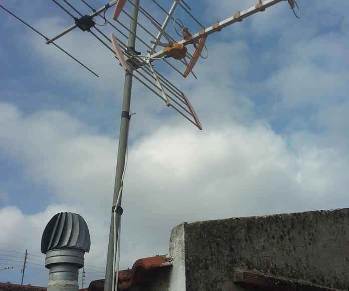 Antenas TDT: Servicios de Antenista en Cullera