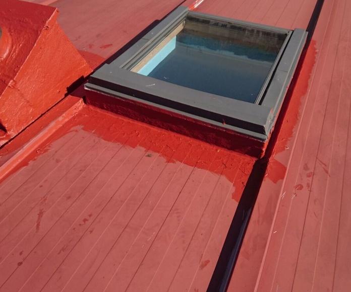Impermeabilización cubiertas metálicas en Asturias