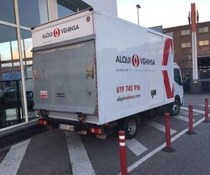 Alquiler Camiones con plataforma elevadora Asturias