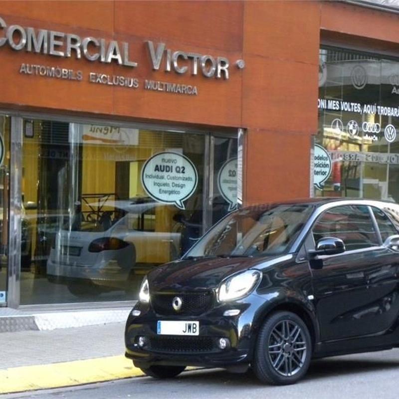 Smart Fortwo 0.9 66kW 90CV SS Passion Coupe 3p.: Servicios de Comercial Víctor