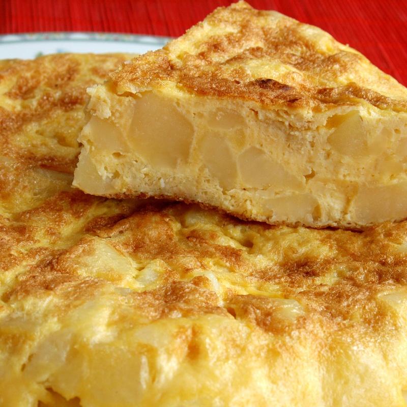 Tortilla española: Menús de Restaurante Terraza La Parrilla de Valdemoro