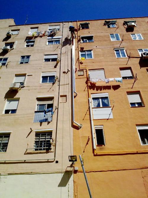 Cambio de bajantes y chimeneas en edificios