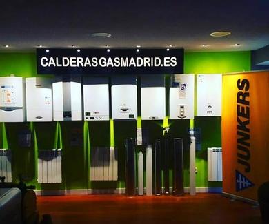 INSTALACION DE CALDERAS EN COLLADO VILLALBA