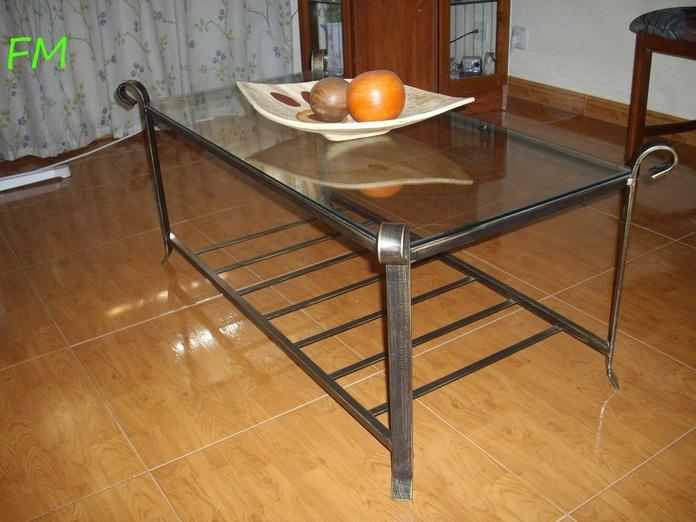 Mesa de centro de salita: Catálogo de muebles de forja de Forja Manuel Jiménez