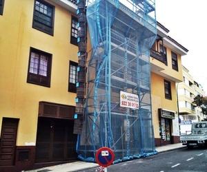 Alquiler y montaje de andamios en fachada
