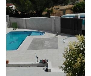 Albardillas para piscinas en Madrid