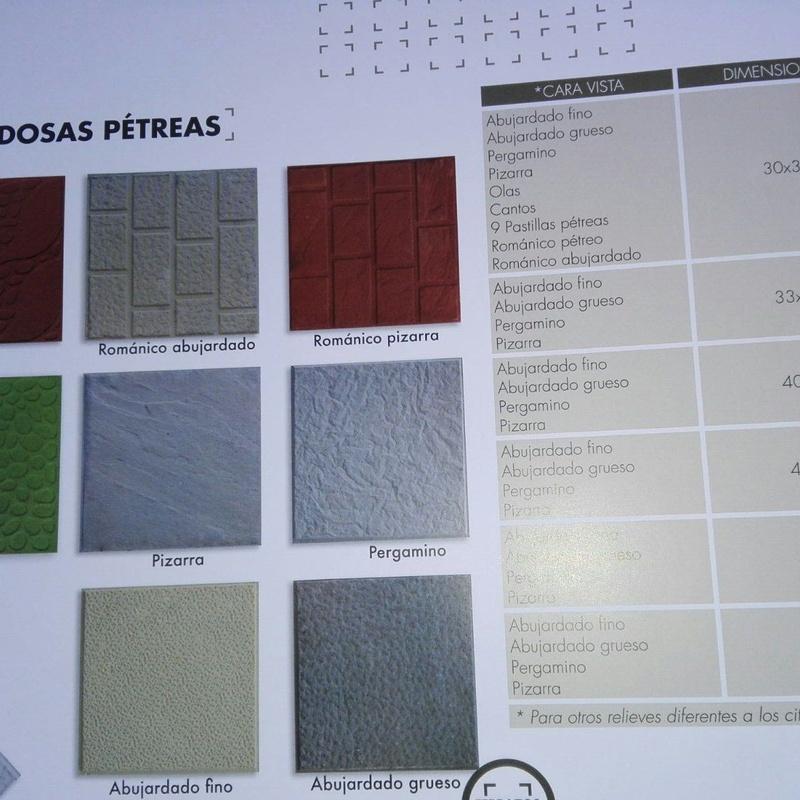 Pavimentos: Servicios de Rincón Pascual Materiales de Construcción