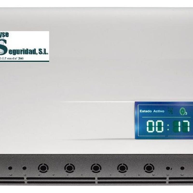 Generador de Ozono Covid 19: Servicios de Cetyse Seguridad