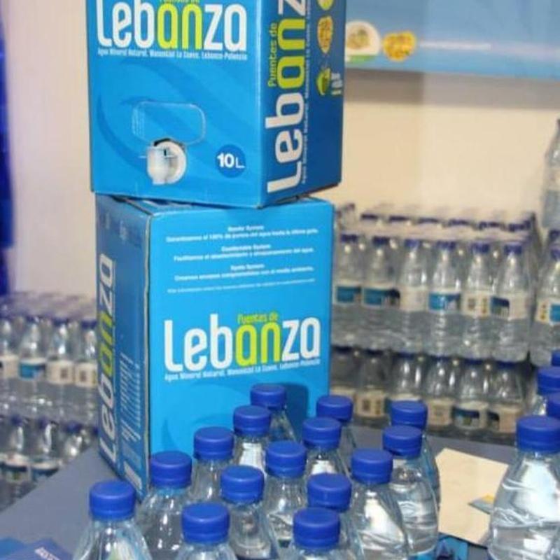 Agua de Lebanza. Bodega cabria. Palencia