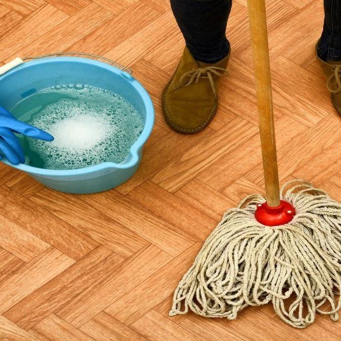 La limpieza con animales