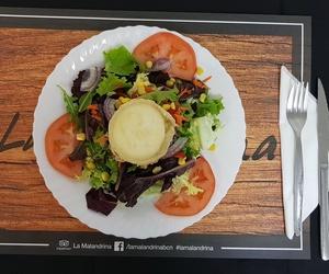 Ensalada Mixta con queso de Cabra