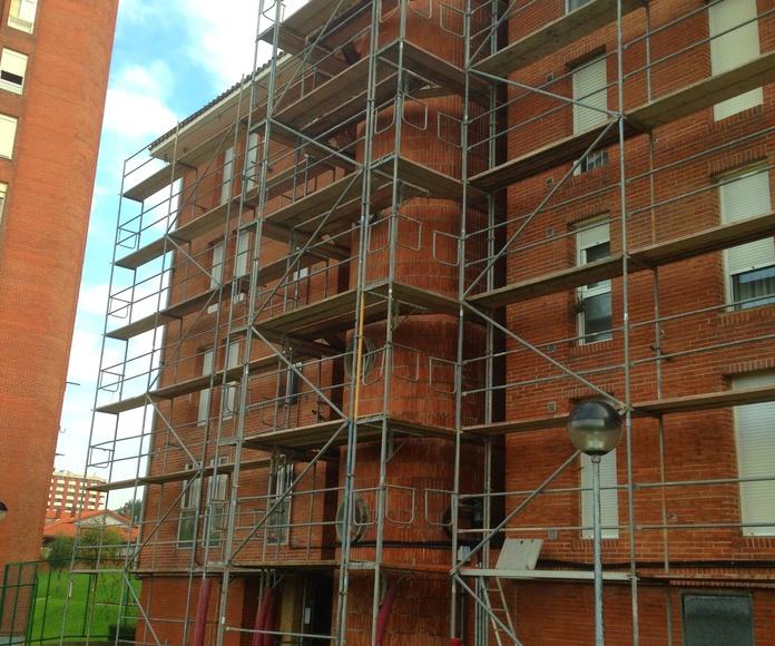 Mantenimiento y rehabilitación de edificios en Santander.