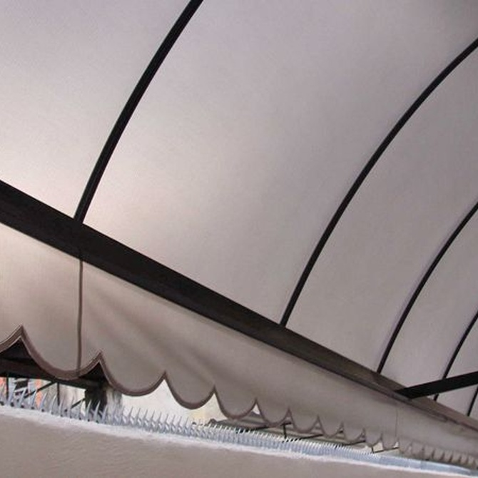 En invierno, protege tu terraza y tu toldo