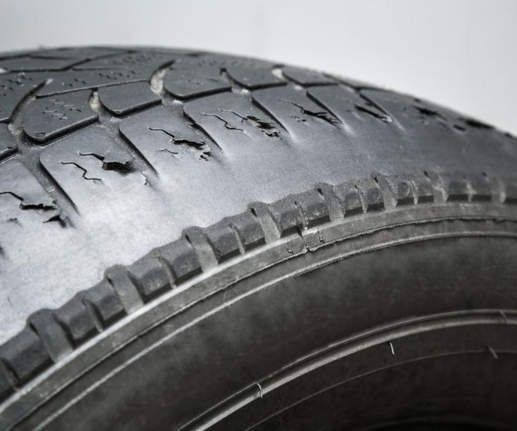 El desgaste de los neumáticos