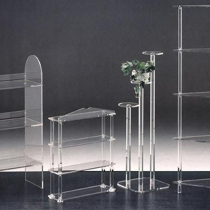 El mobiliario de metacrilato, una tendencia en auge en la decoración de interiores
