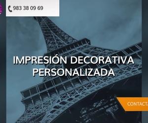Impresión digital de vinilo en Valladolid | Bravo Deco