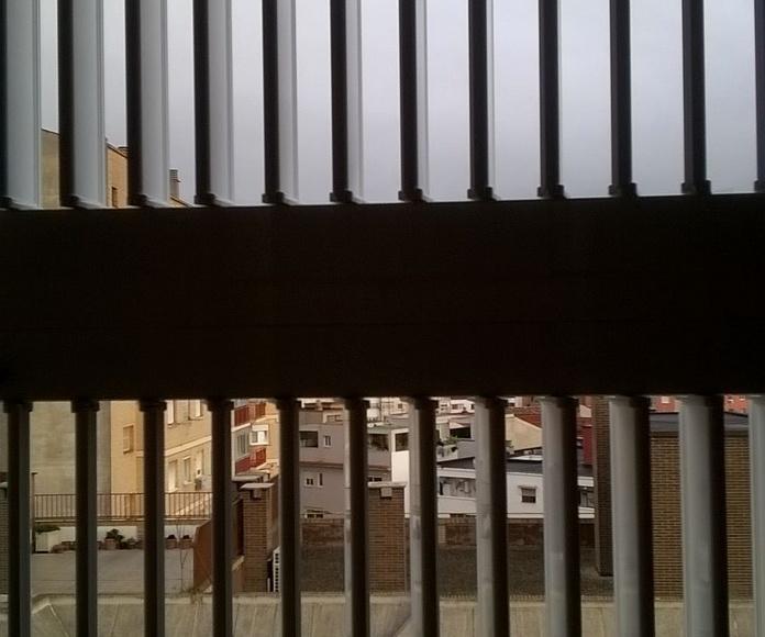 Fraileros y celosías: Carpintería de aluminio de Laborda Tecnología del Aluminio, S.L.