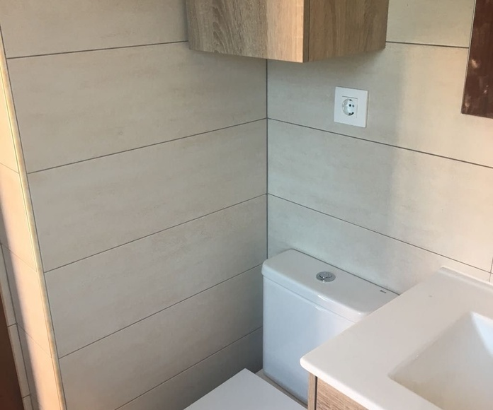 Reforma de baño sector III Getafe