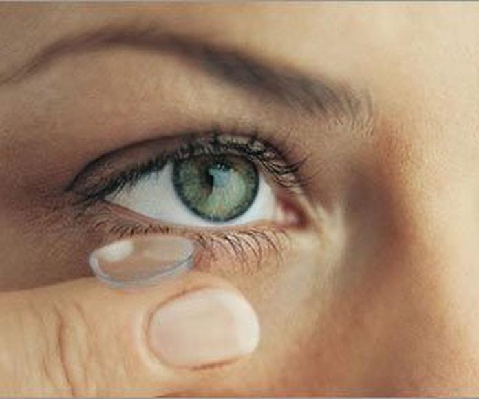 Lentes de contacto monofocales y progresivas: Servicios de Europtica Guía de Isora