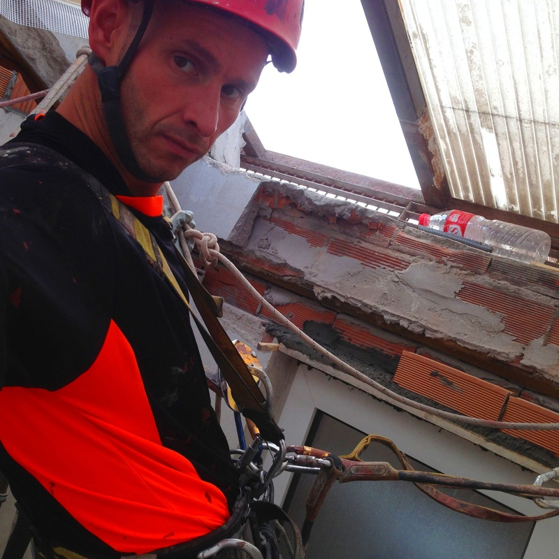 Especialistas en trabajos verticales en construcción