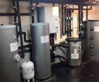 Ejemplo de instalación de aerotermia: Productos y Servicios de Intecser Clima