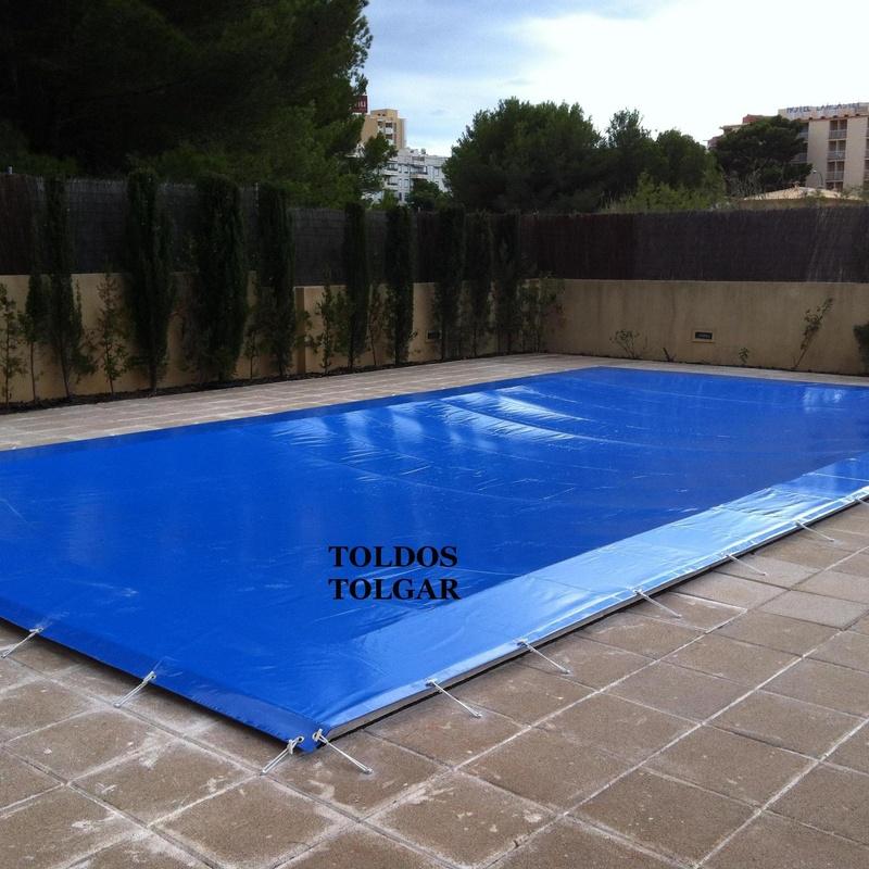 Lona para piscina