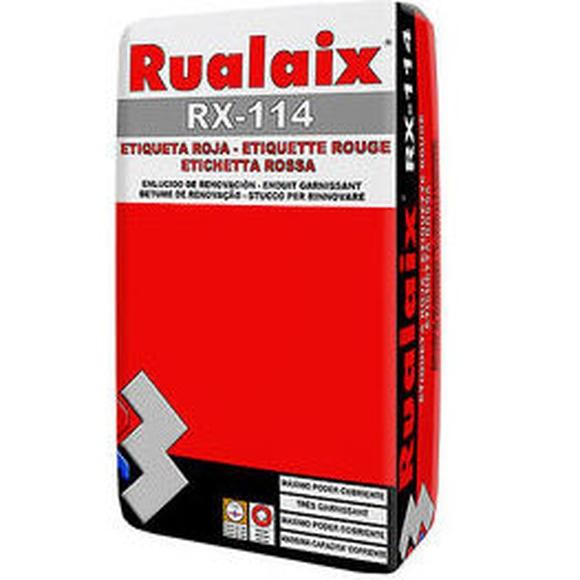 RX-114 Rualaix Etiqueta Roja en almacén de pinturas en pueblo nuevo.