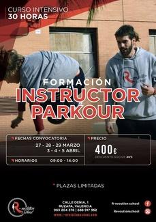 FORMATE COMO INSTRUCTOR DE PARKOUR