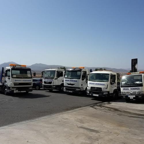 Rescate de vehículos en carretera Fuerteventura