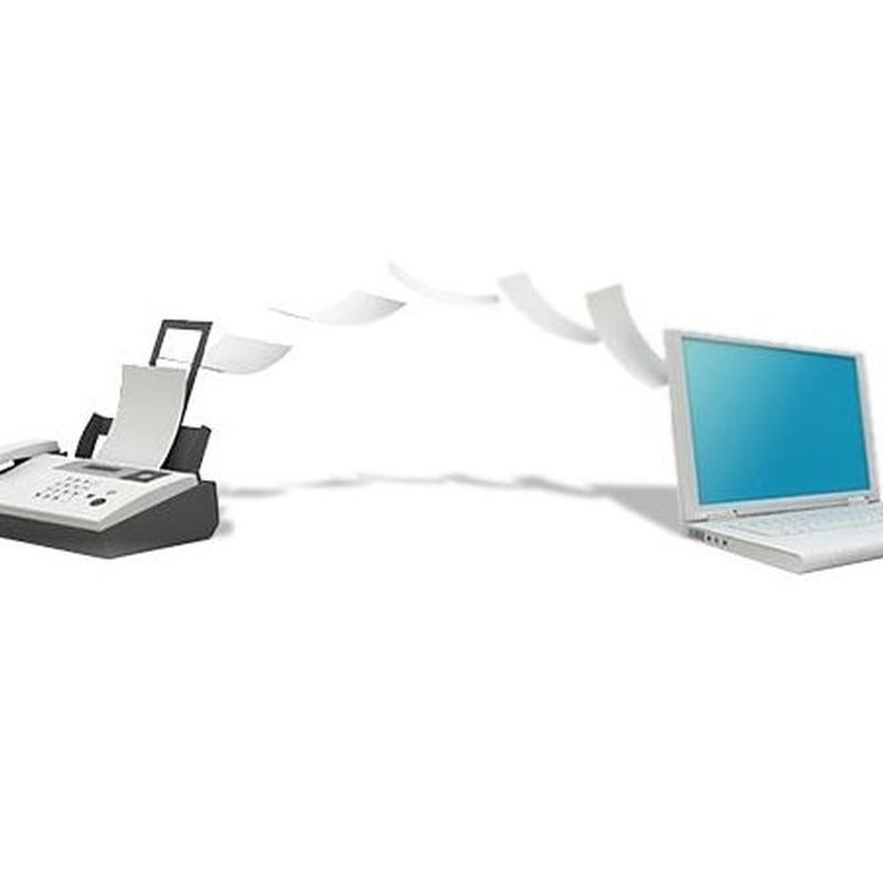fax y e-mail