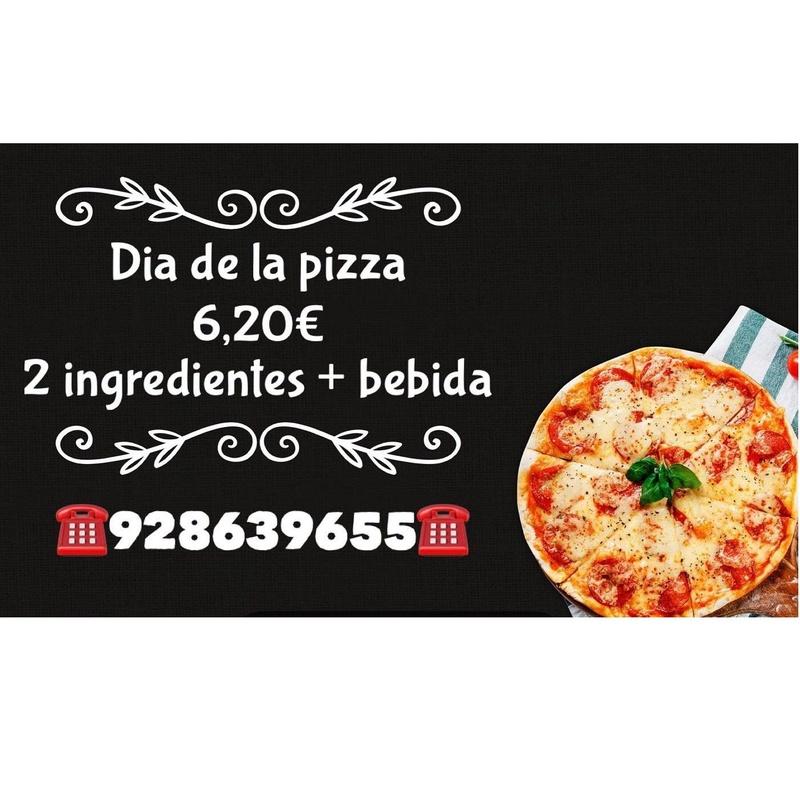 Miércoles día de la pizza:  de El Antojao Burguer