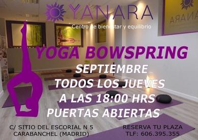 PUERTAS ABIERTAS DE YOGA BOWSPRING