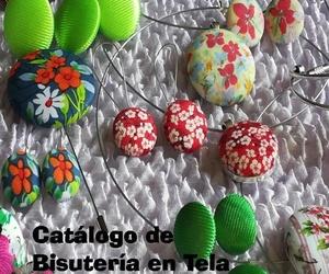 Colección primavera de Bisutería en Tela de Lira