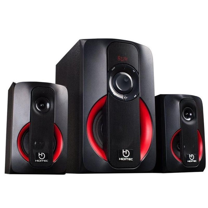 Hiditec Altavoces 2.1 Multimedia H400 40W Blt Radi: Productos y Servicios de Stylepc