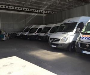 Disponemos de una amplia flota de vehículos