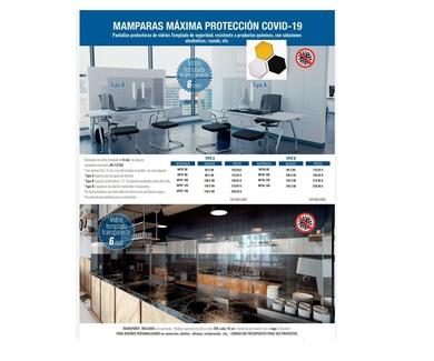 Mamparas para la protección del Covid-19