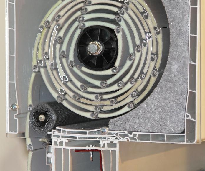 Cajones y persianas: Servicios de Cañibano Aluminio y PVC