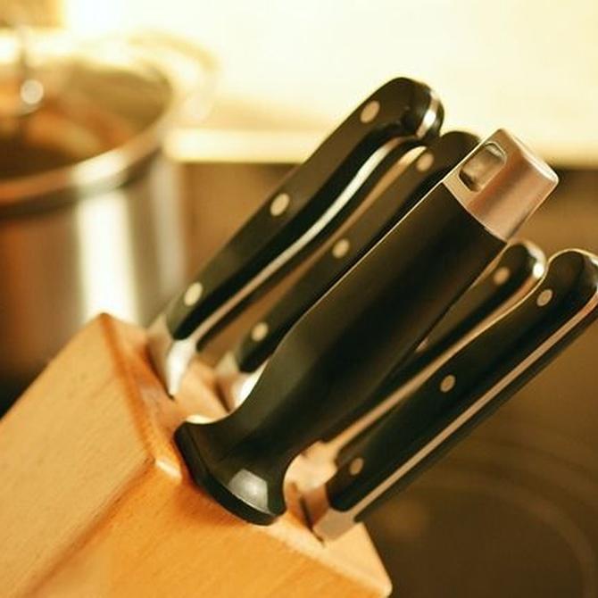 Limpieza y mantenimiento de los cuchillos