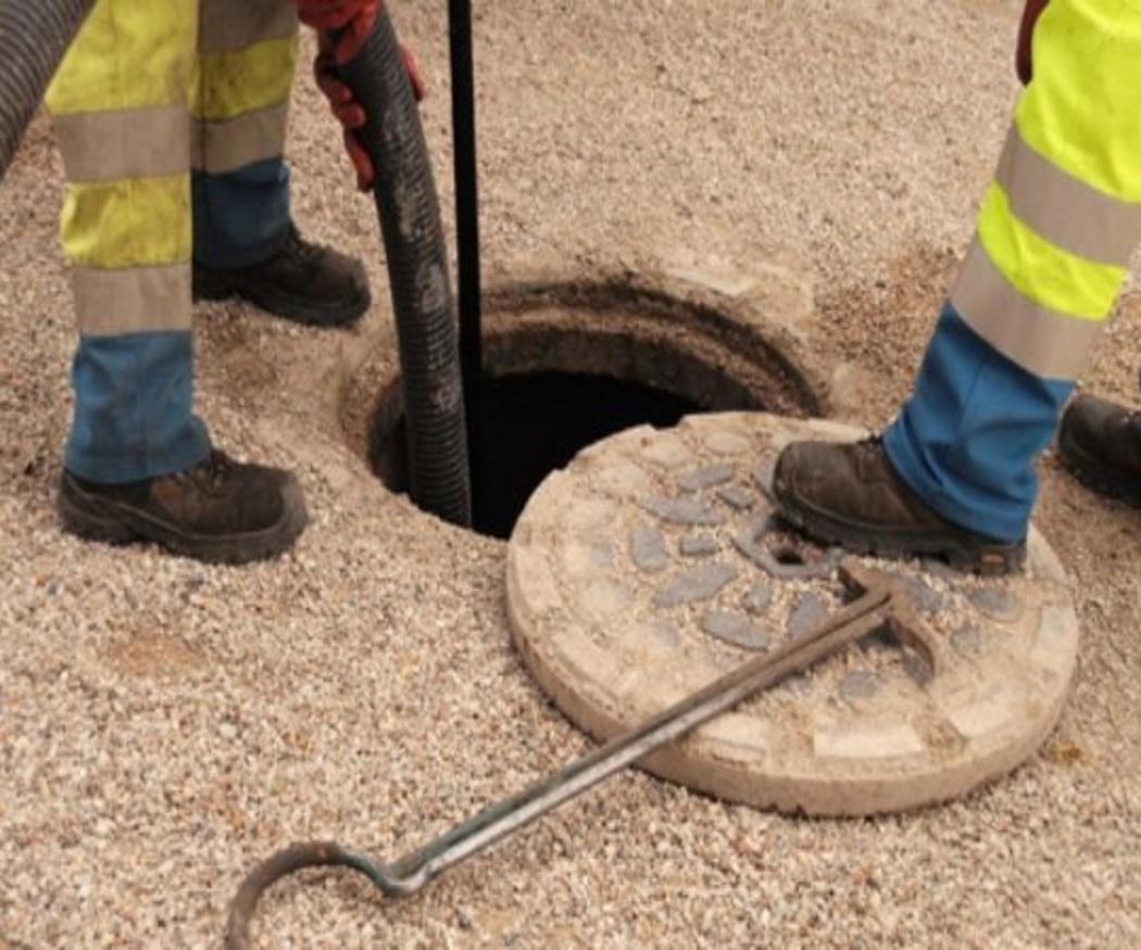 Limpieza a presión con arena