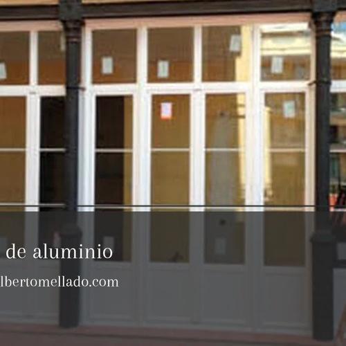 Carpinteria de aluminio en Horta Guinardó, Barcelona | Carpintería de aluminio Alberto Mellado